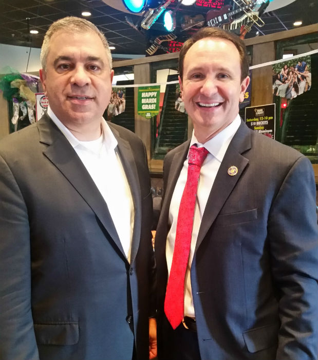 Louisiana Attorney General Jeff Landry with David Bossie